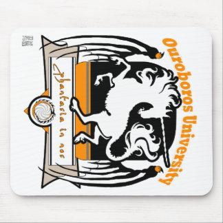 MinkMode Mousepad: Ouroboros University Mouse Pad