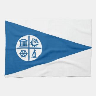 minneapolis city flag united states america towels