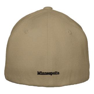 Minneapolis Lid Embroidered Baseball Caps