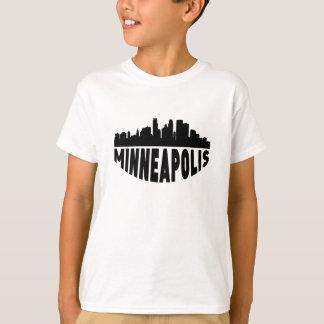 Minneapolis MN Cityscape Skyline T-Shirt