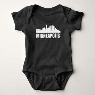 Minneapolis MN Skyline Baby Bodysuit