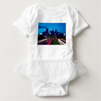 Minneapolis Night Skyline Baby Bodysuit