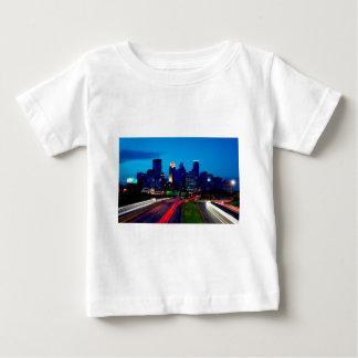 Minneapolis Night Skyline Baby T-Shirt