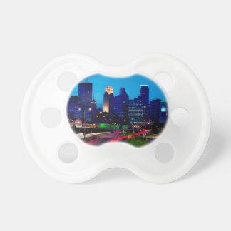 Minneapolis Night Skyline Dummy