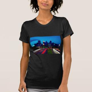 Minneapolis Night Skyline T-Shirt