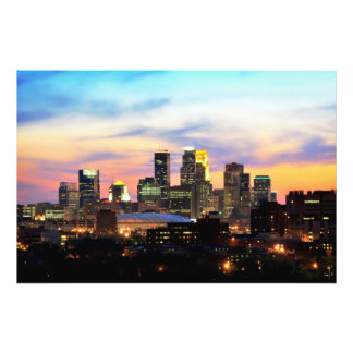 Minneapolis Photo Print