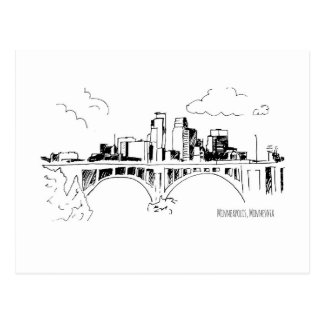 Minneapolis Postcard