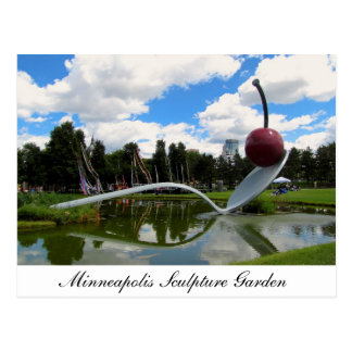 Minneapolis Sculpture Garden Postcard