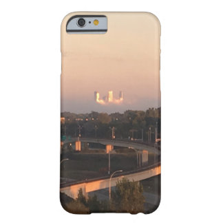 """""""Minneapolis Skyline"""" above the Fog Barely There iPhone 6 Case"""