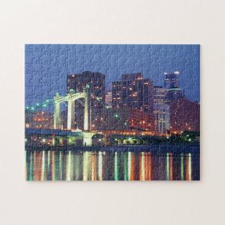 Minneapolis Skyline Jigsaw Puzzles