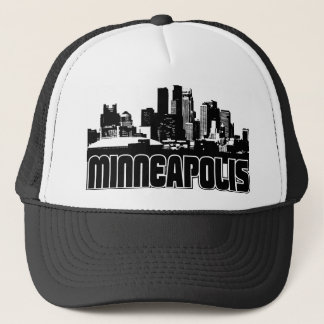 Minneapolis Skyline Trucker Hat