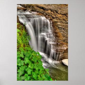 Minneheha Falls, Watkins Glen, New York Poster