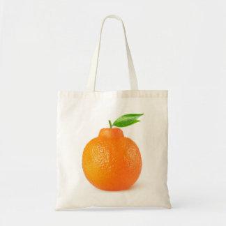 Minneola tangelo citrus fruit tote bag