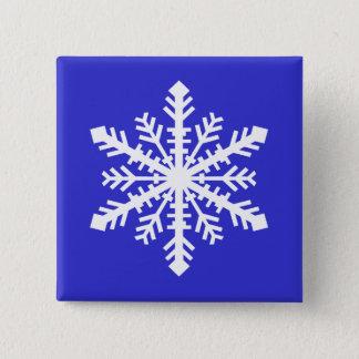 Minnesnowta Snowflake 15 Cm Square Badge
