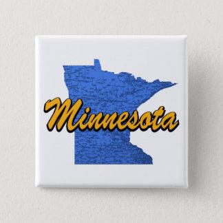 Minnesota 15 Cm Square Badge