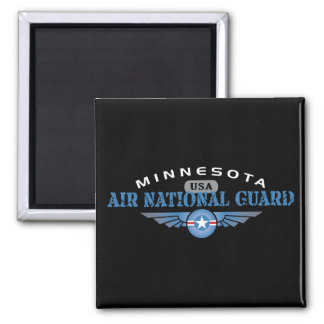 Minnesota Air National Guard Square Magnet