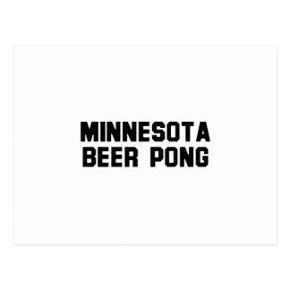 Minnesota Beer Pong Post Card