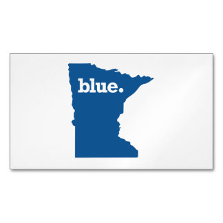 MINNESOTA BLUE STATE MAGNETIC BUSINESS CARDS