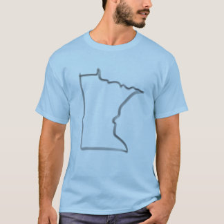 Minnesota Brush Outline Tee