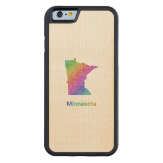 Minnesota Carved Maple iPhone 6 Bumper Case