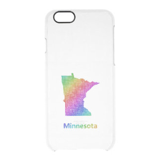 Minnesota Clear iPhone 6/6S Case