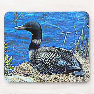 Minnesota Common Loon Mouse Pad