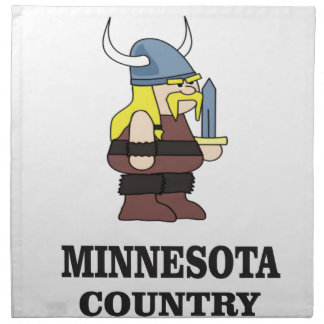 Minnesota country napkin