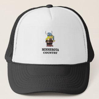 Minnesota country trucker hat