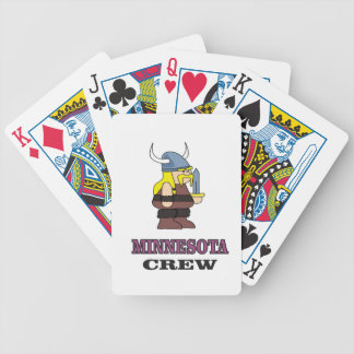 Minnesota Crew Bicycle Playing Cards