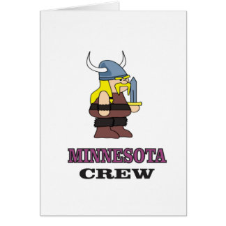 Minnesota Crew Card