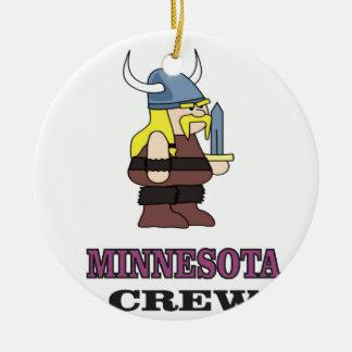 Minnesota Crew Ceramic Ornament