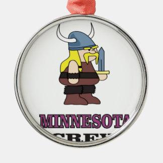 Minnesota Crew Metal Ornament