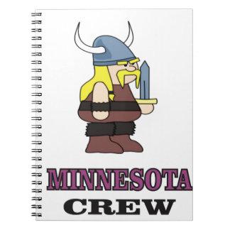 Minnesota Crew Notebook