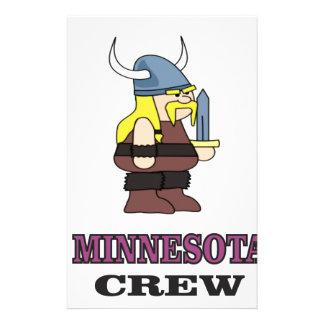Minnesota Crew Stationery