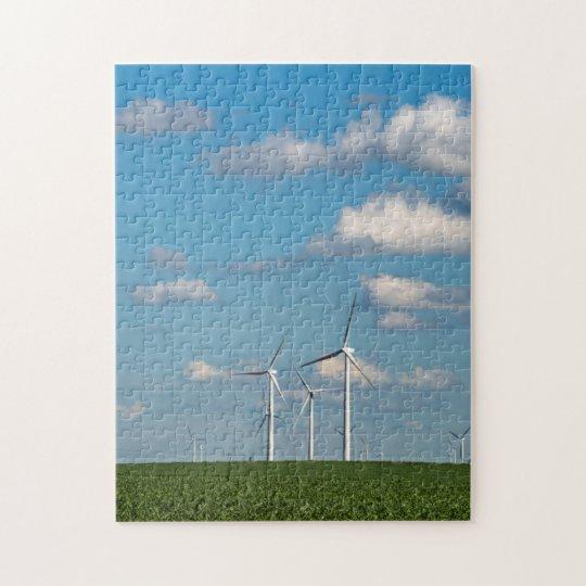 Minnesota, Dexter, Grand Meadow Wind Farm 2 Jigsaw Puzzle