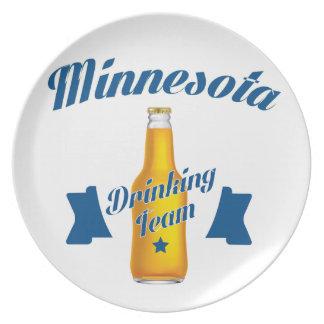 Minnesota Drinking team Plate