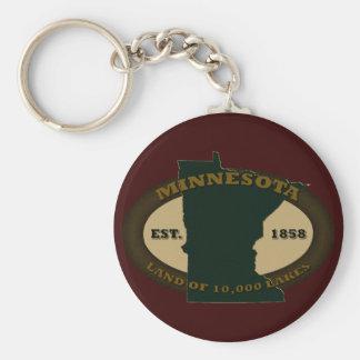 Minnesota Est. 1858 Key Ring