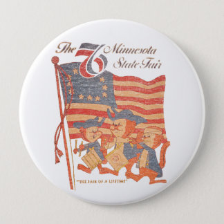 Minnesota Fair 1976 10 Cm Round Badge