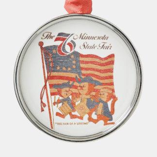 Minnesota Fair 1976 Metal Ornament
