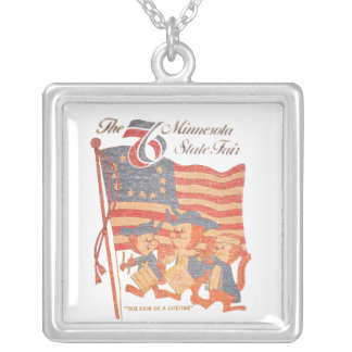 Minnesota Fair 1976 Silver Plated Necklace