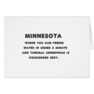Minnesota Freeze Card