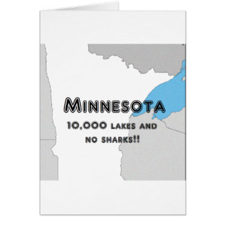 Minnesota Funny Card