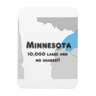 Minnesota Funny Magnet