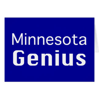 Minnesota Genius Gifts Card