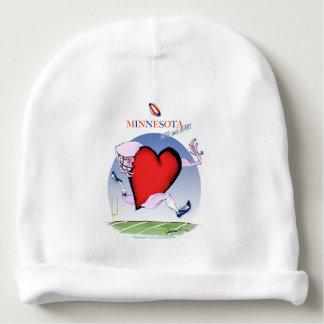 minnesota head heart, tony fernandes baby beanie
