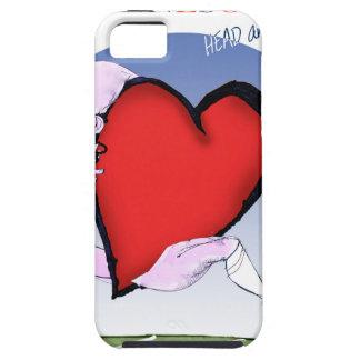 minnesota head heart, tony fernandes tough iPhone 5 case