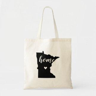 Minnesota Home State Tote Bag