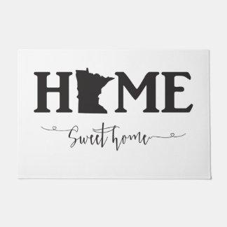 Minnesota Home Sweet Home Door mat