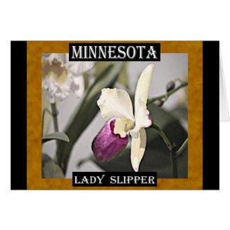Minnesota Lady Slipper Card
