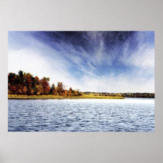 Minnesota Lake Poster